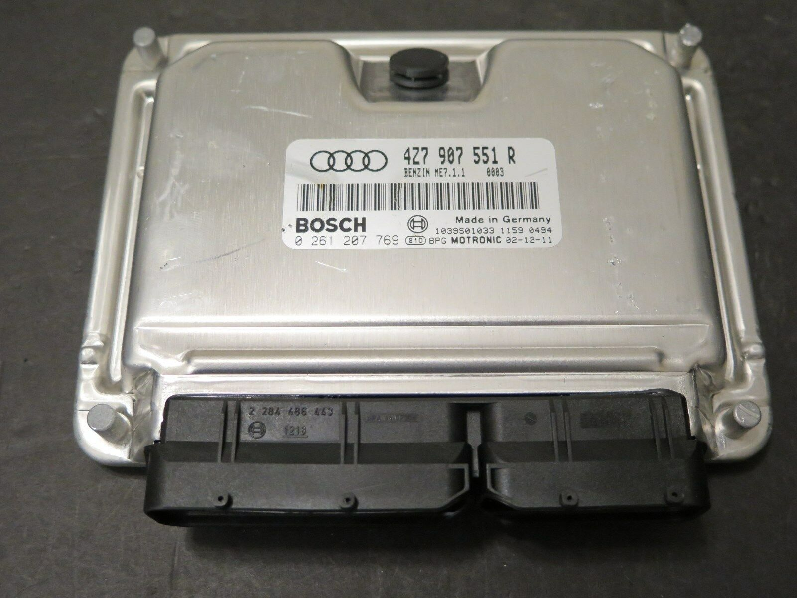 2003 Audi A6 Quattro Ecu 27l Turbo 4z7 907 551 R Allroad Ecm Wiring Harness Oem 1 Of 4only 5 Available
