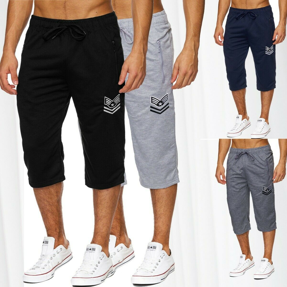 herren sweat shorts jogging sport kurze hose jogginghose baumwolle sommershorts eur 14 95. Black Bedroom Furniture Sets. Home Design Ideas