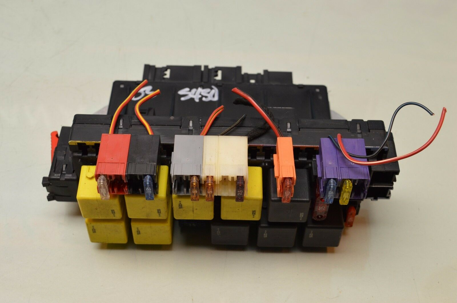 00 06 W220 Mercedes S430 S500 S55 Front Left Sam Fuse Relay Box 2000 Home 0325458232