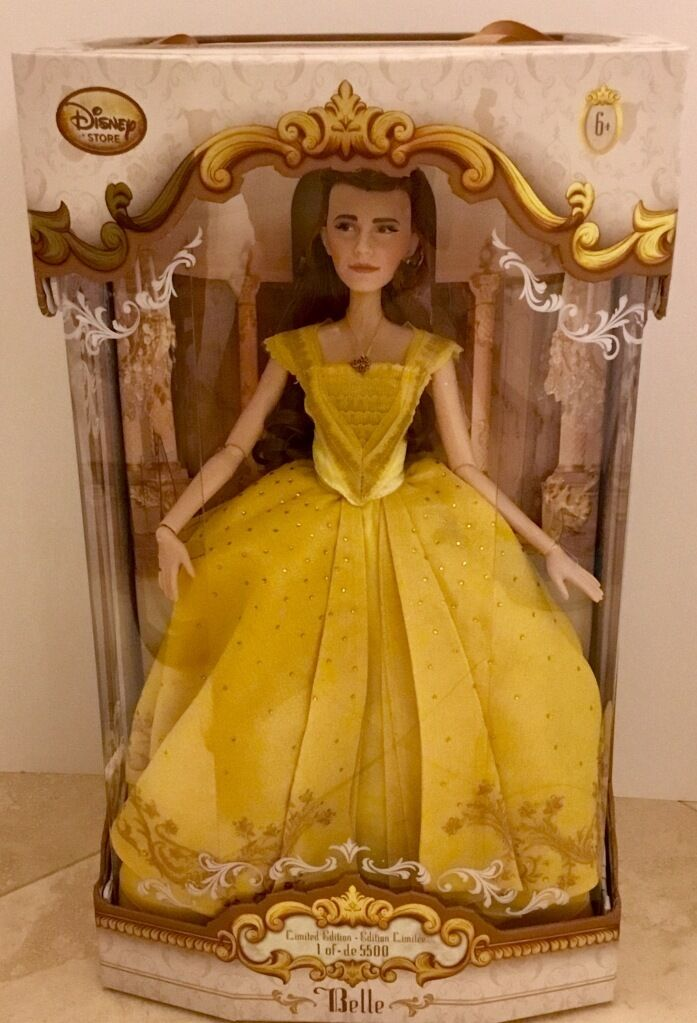 Disney Limited Edition Beauty And The Beast Belle Live