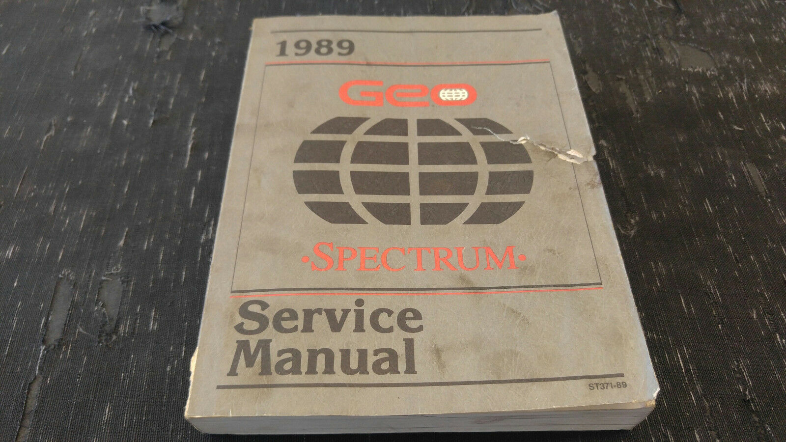 1989 Geo Spectrum Service Manual 1 of 1Only 1 available ...