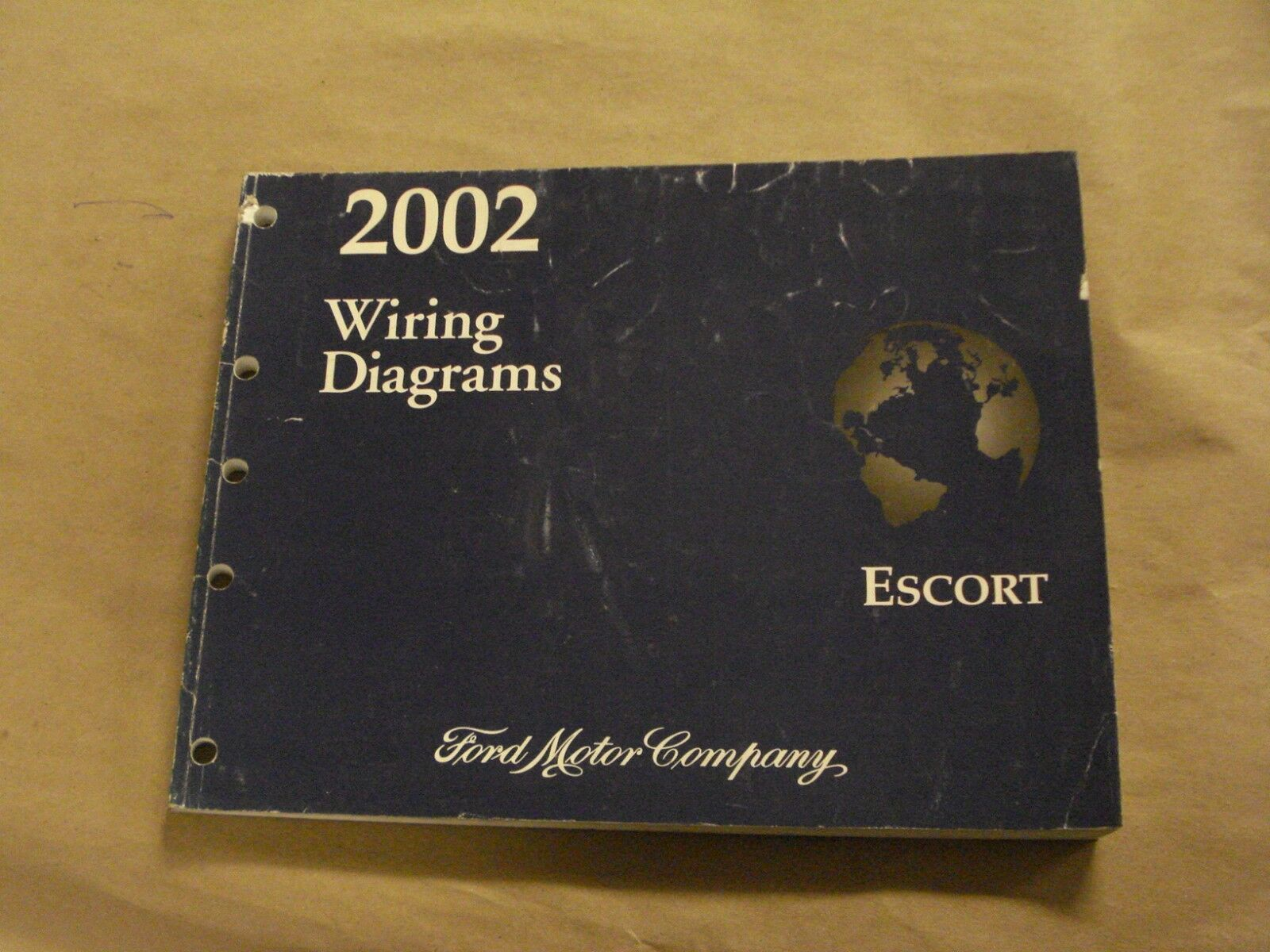 2002 Ford Escort Workshop Service Manual Wiring Diagrams Book Oem Motor Diagram Books
