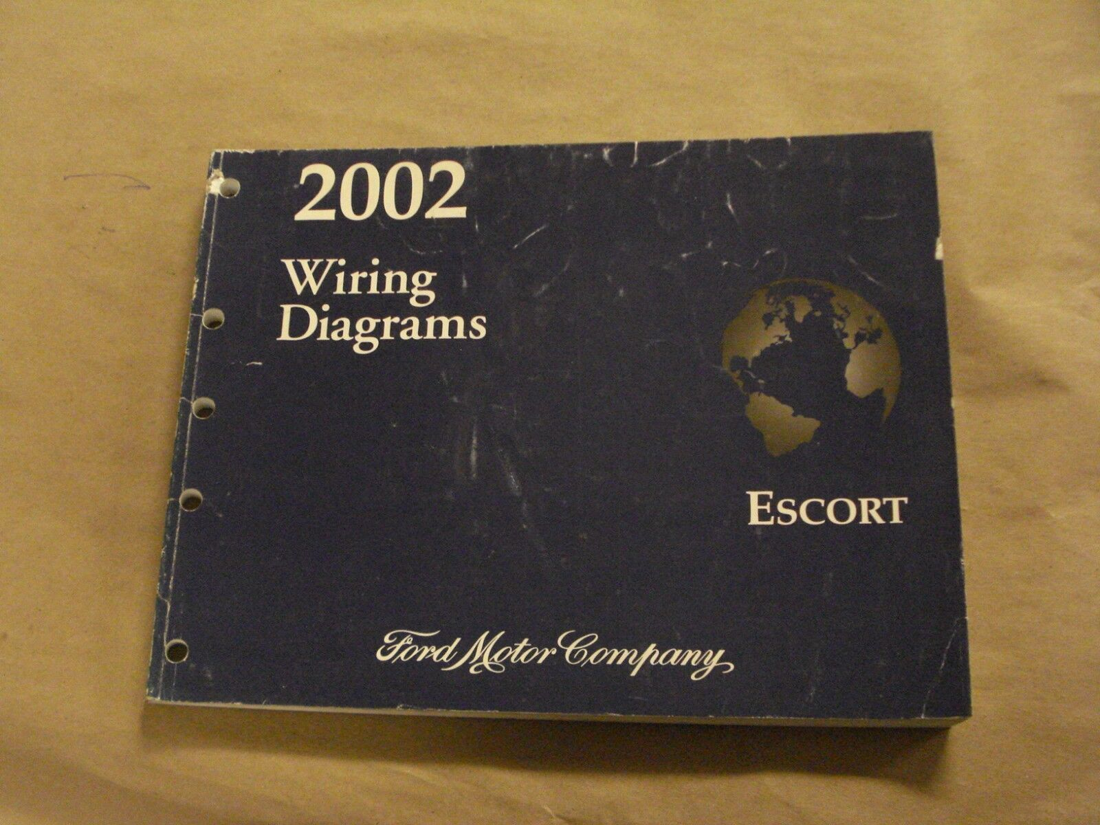 Wiring Diagram 2002 Ford Motor Company House Symbols 1990 Escort Workshop Service Manual Diagrams Book Oem Rh Picclick Com E 350 Truck