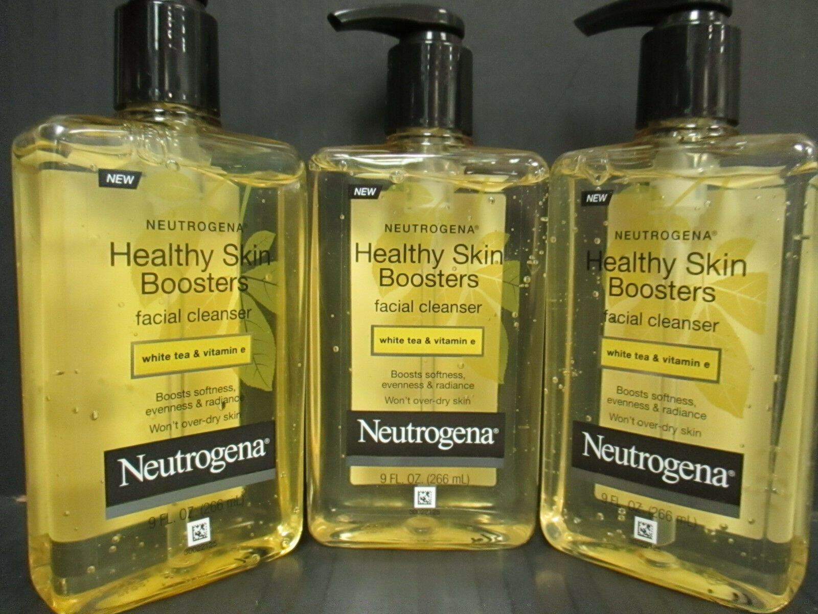 (3) Neutrogena-Healthy Skin Boosters - Facial Cleanser - Exp: 1/18 - Rc 277 • $19.99