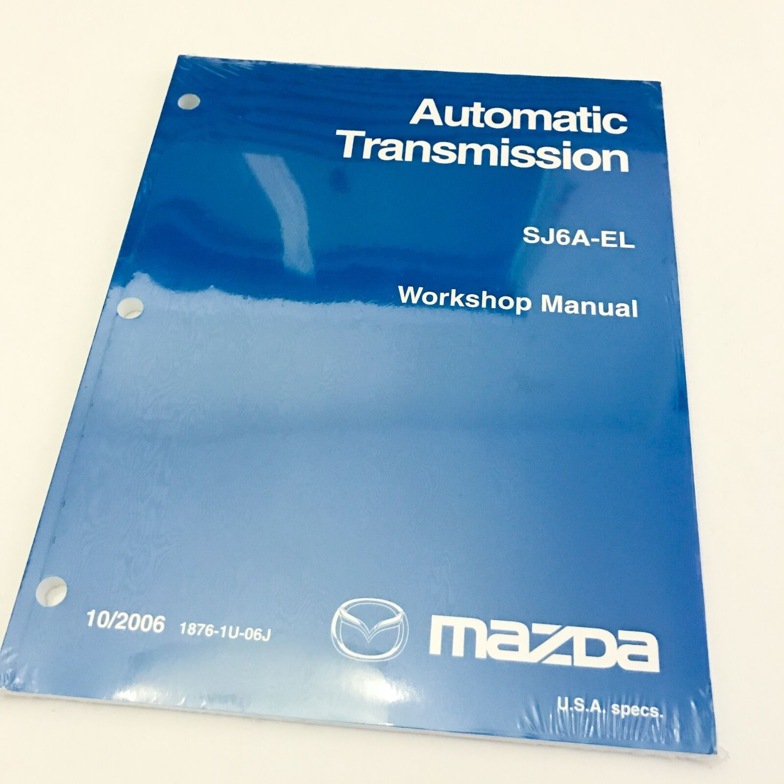 2006 SJ6A-EL Mazda Automatic Transmission OEM Workshop Service Repair Manual  1 of 2Only 3 available See More