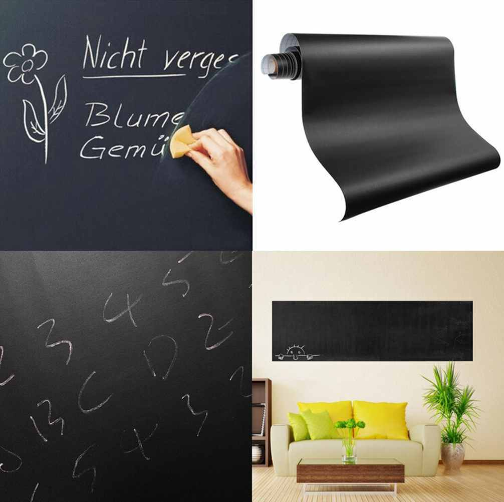 60×200CM REMOVABLE Blackboard Vinyl Wall Sticker ...