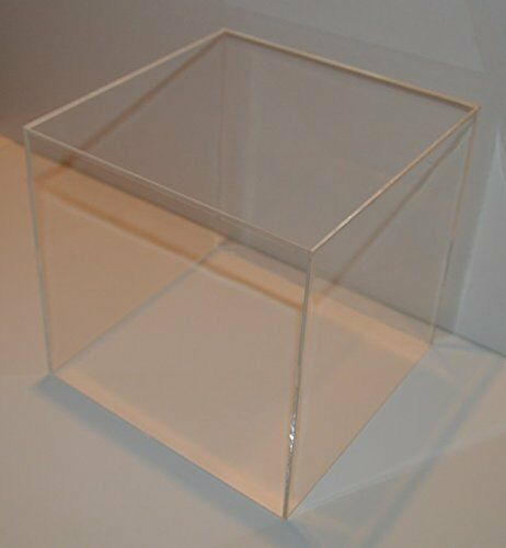tisch vitrine w rfel acryl glas box mit deckel spuck staub. Black Bedroom Furniture Sets. Home Design Ideas