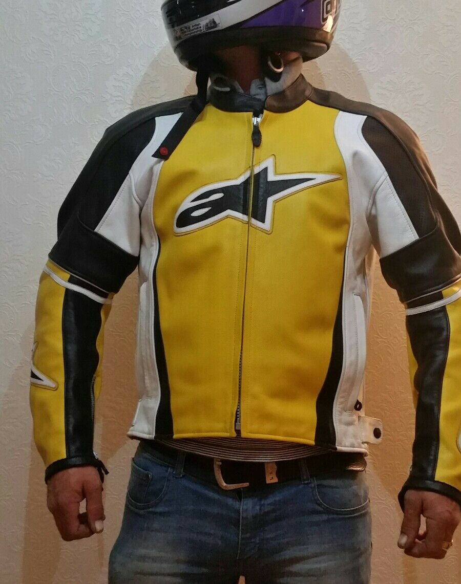Alpinestars stunt 2 leather jacket