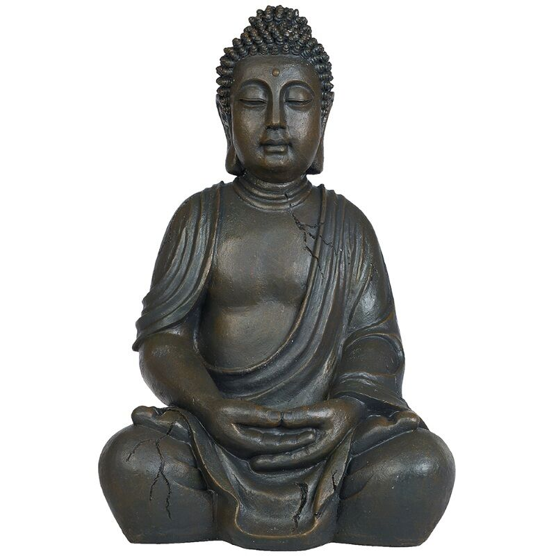 gro e buddha figur gartenfigur statue feng shui buddhismus tibet himalaya bu174 eur 59 95. Black Bedroom Furniture Sets. Home Design Ideas