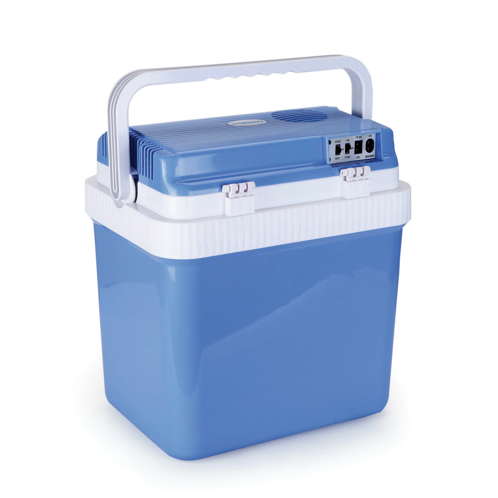Mpe portable 12v 24l travel camping picnic car fridge ice for Coole accessoires