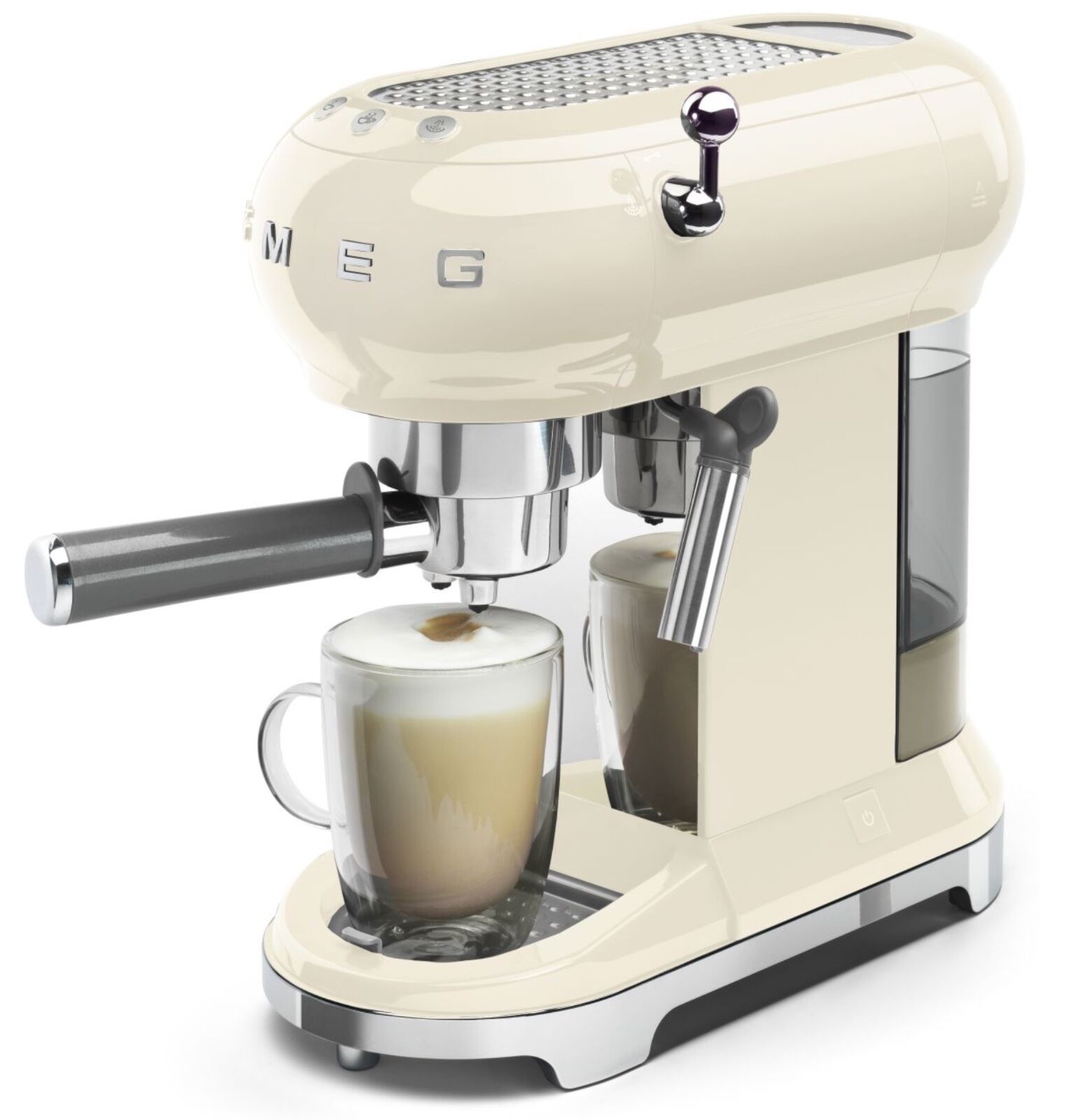 Smeg espresso coffee maker machine manual retro cappuccino New coffee machine