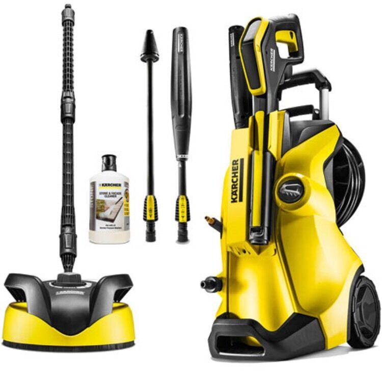 karcher k4 premium full control home pressure washer package picclick uk. Black Bedroom Furniture Sets. Home Design Ideas
