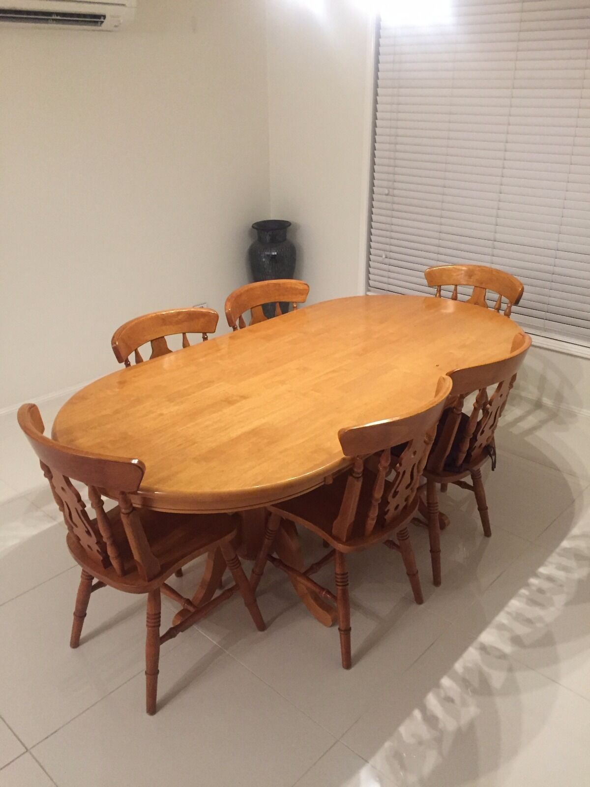 vintage dining table and chairs aud picclick au