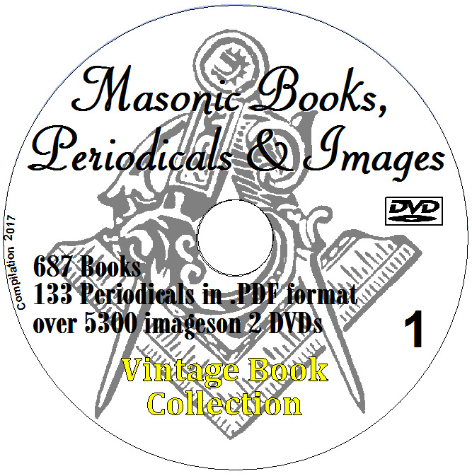 Freemasonry masonic collection 687 books on 2 dvds masons occult 1 of 8 see more fandeluxe Gallery