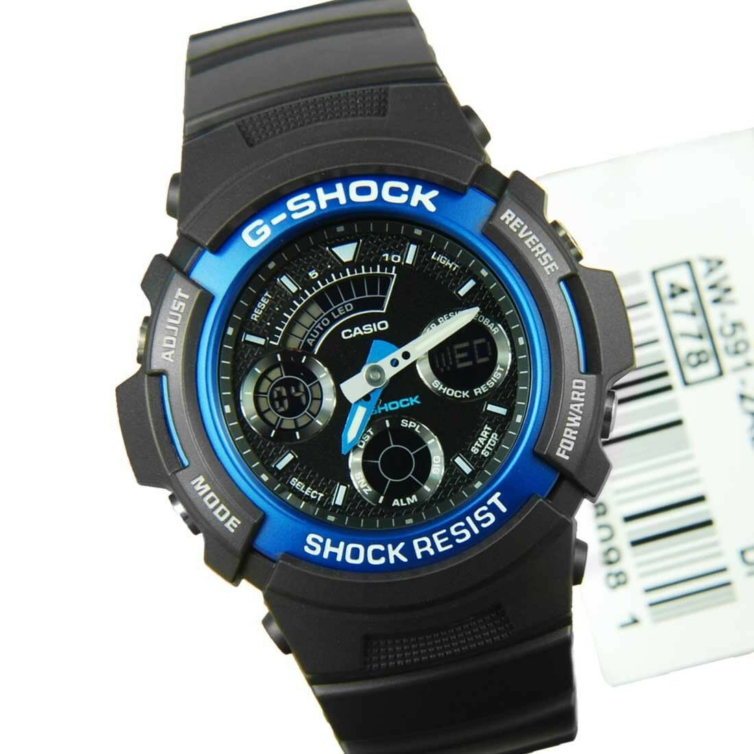 Casio G Shock Aw 591 2a New Chrono Analog Digital Mens Watch 200m Ga 110gw 7a 1 Of 4only Available