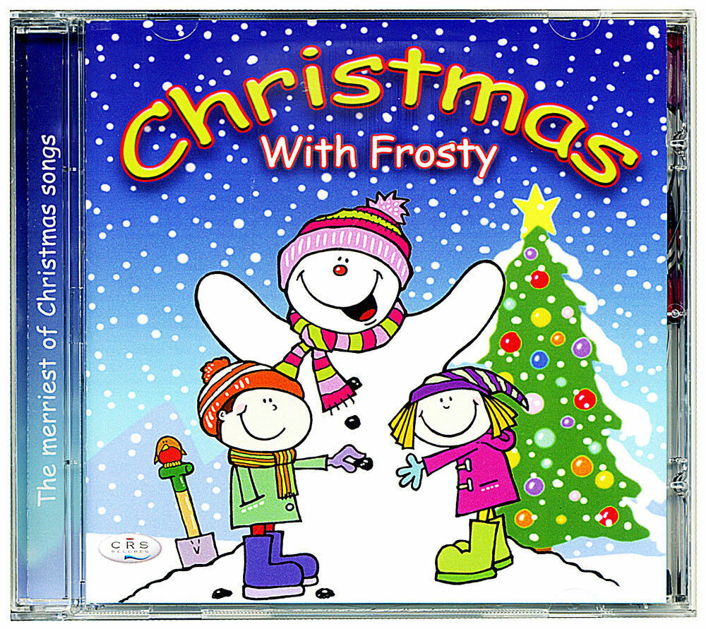 CHRISTMAS WITH FROSTY Childrens Kids Xmas Christmas music Songs CD -New & Sealed 1 of 2FREE Shipping ...
