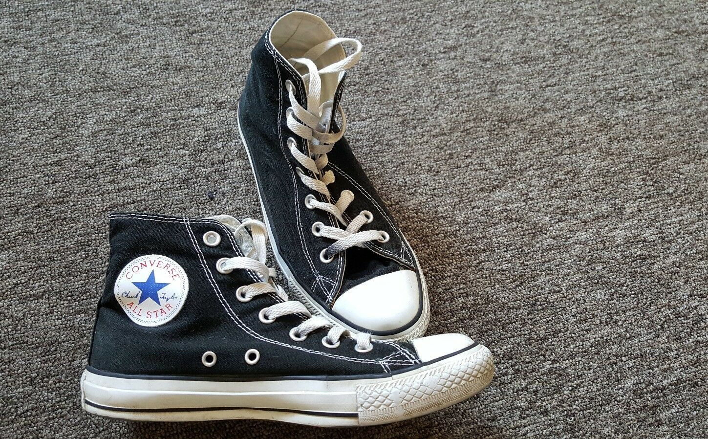 converse chucks chuck taylor damen schuhe schwarz gr 38. Black Bedroom Furniture Sets. Home Design Ideas