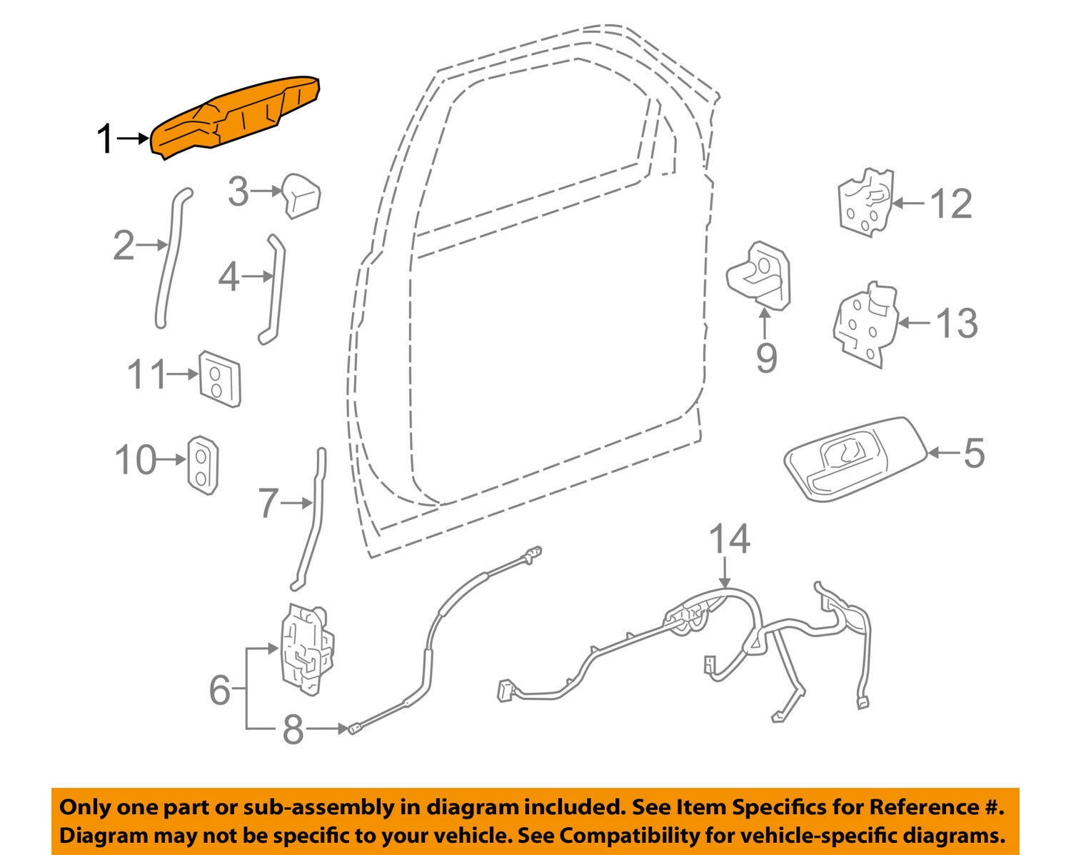 Gm Oem Outside Exterior Door Handle Right 84053436 5734 Picclick Jeep Latch Diagrams 1 Of 2free Shipping
