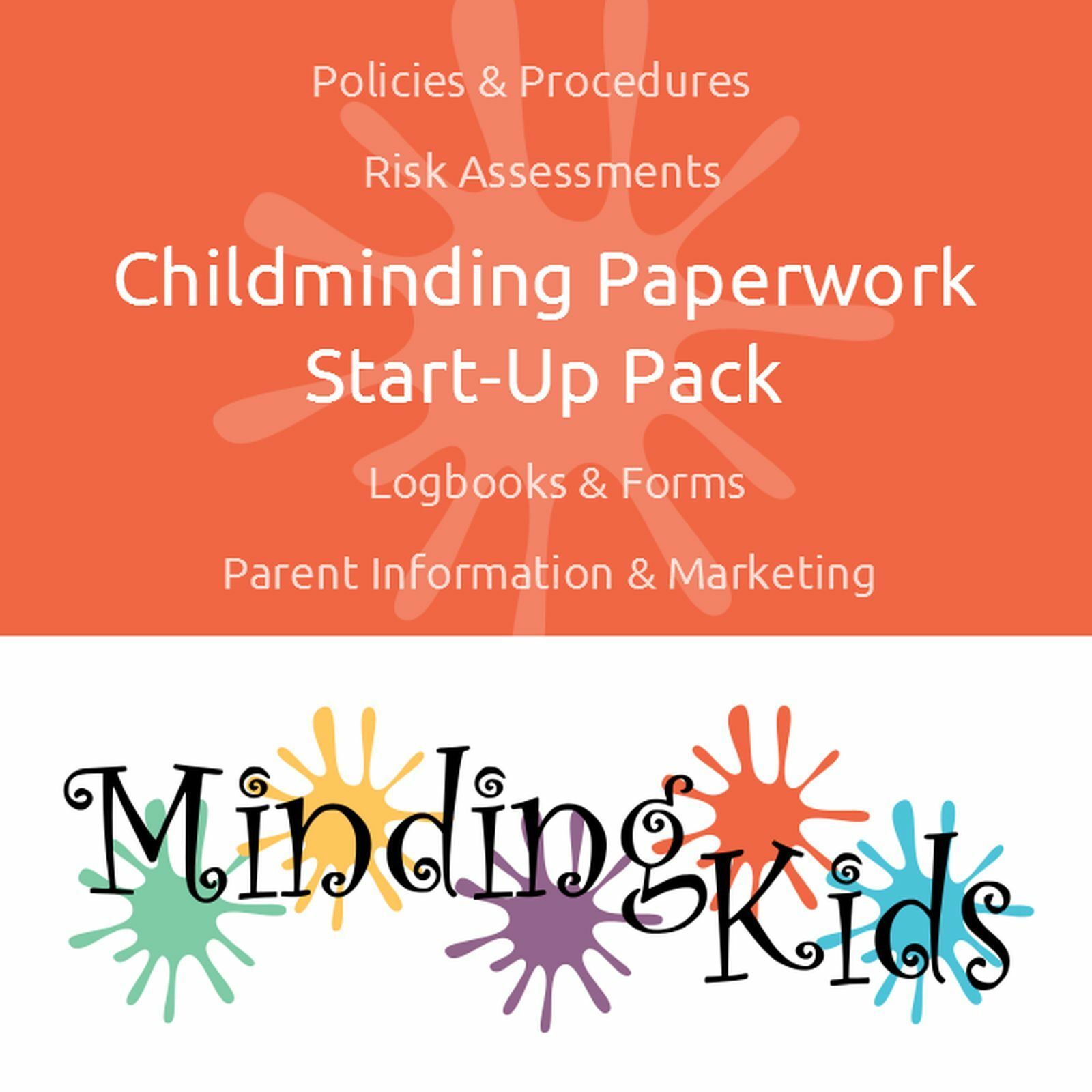 CHILDMINDING PAPERWORK START Up Pack - polices, risk assessments ...