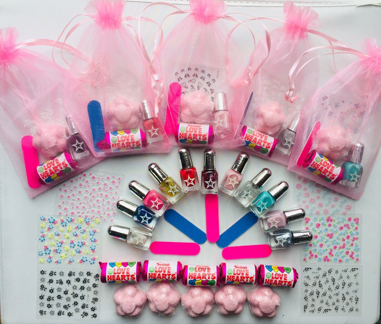 LADIES HEN PARTY Wedding Favour Pamper Spa Birthday Gift Bag Nail ...