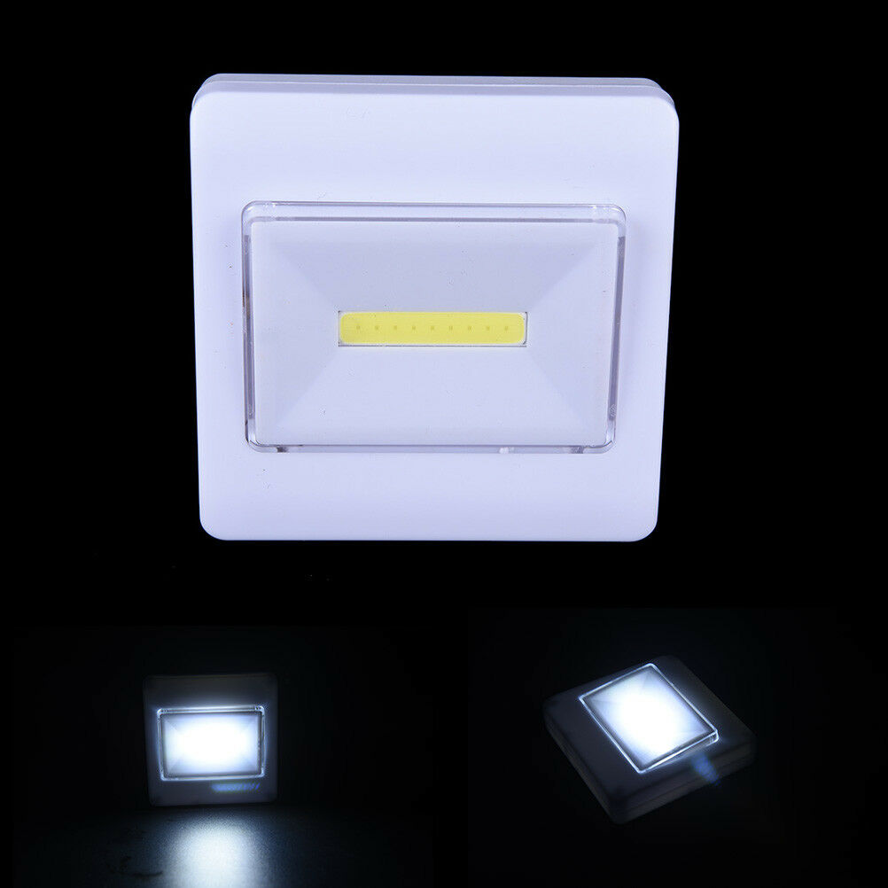 Magnetic Cob Led Wall Light Night Lights Camp Lamp Battery