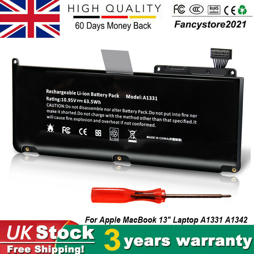 A1331 Battery For Apple Macbook Pro 13 15 17 A1342 Late 2009 Mid Baterai Original A1322 A1278 Inchi 1 Of 8only 0 Available