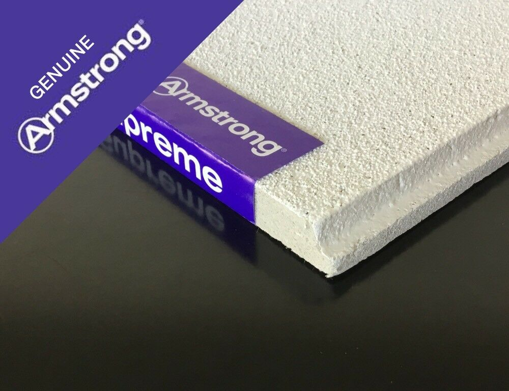 16 Box 16 595x595mm Armstrong Tegular Dune Ceiling Tiles Only 702