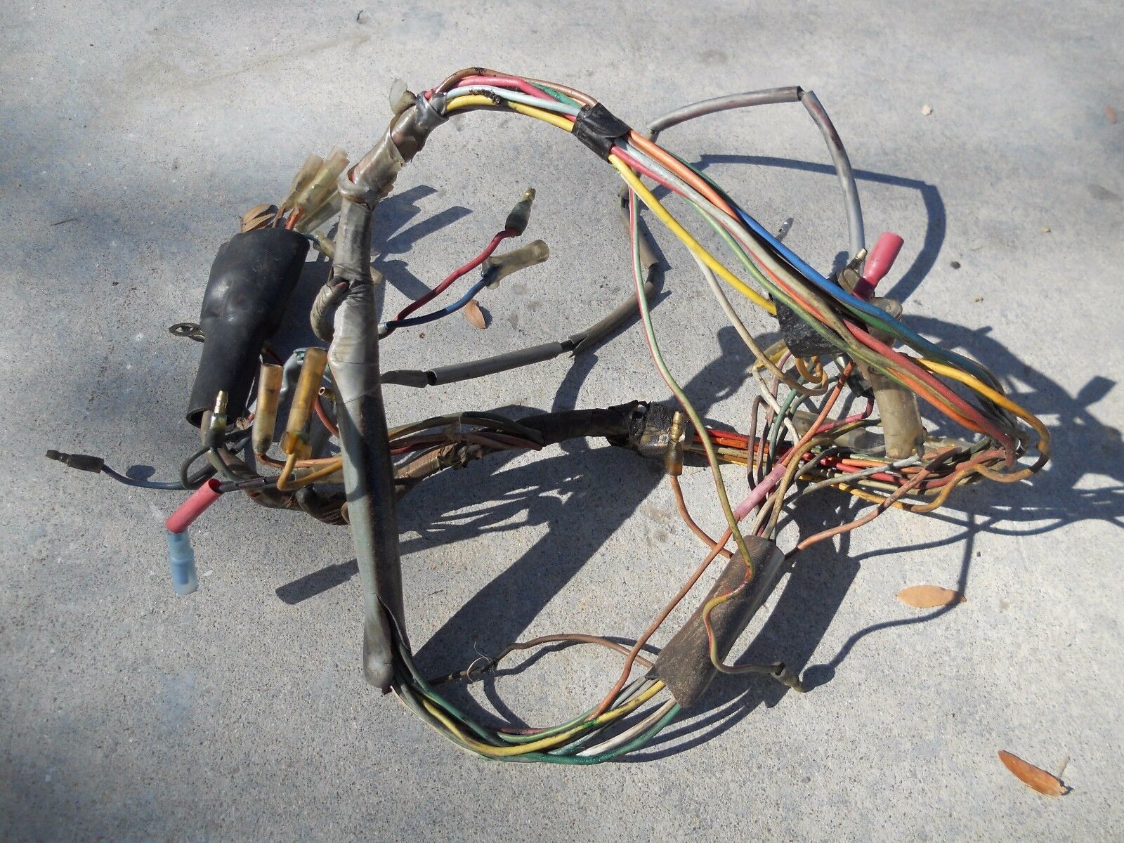 1971 HONDA CT90 #1004 Wiring Harness - £18.87 | PicClick UK on ct70 wiring harness, cx500 wiring harness, cr125 wiring harness, trx90 wiring harness, cb750 wiring harness, cb550k wiring harness, sl350 wiring harness, cb160 wiring harness, gl1000 wiring harness, cb400f wiring harness, cb750k wiring harness, cb125s wiring harness, cb360 wiring harness,