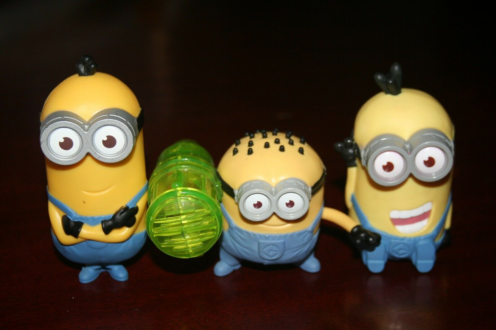 Lot 3 Mcdonalds Minion Action Figure Despicable Me 2 Happy Meal Toys 1 Of 6 See More