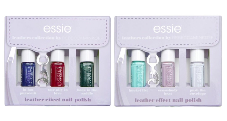 ESSIE LEATHERS COLLECTION by Rebecca Minkoff Nail Polish Gift Set ...