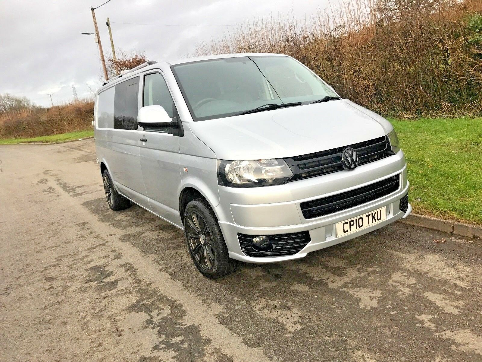 2010 vw transporter t5 kombi 140bhp 6 speed no vat 14 picclick uk. Black Bedroom Furniture Sets. Home Design Ideas