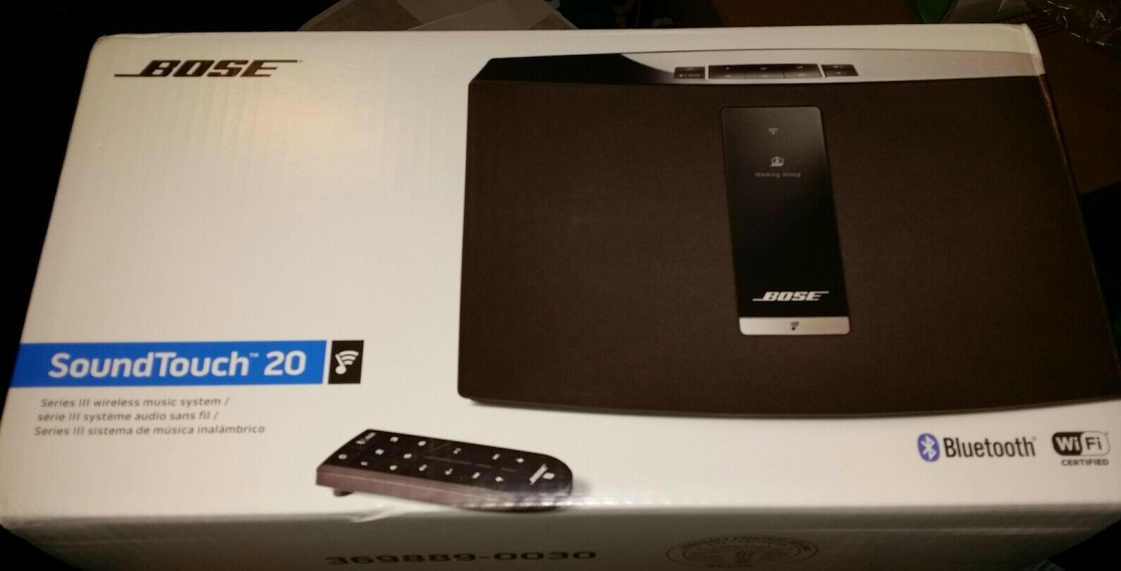 bose soundtouch 20 series iii wireless bluetooth wi fi. Black Bedroom Furniture Sets. Home Design Ideas