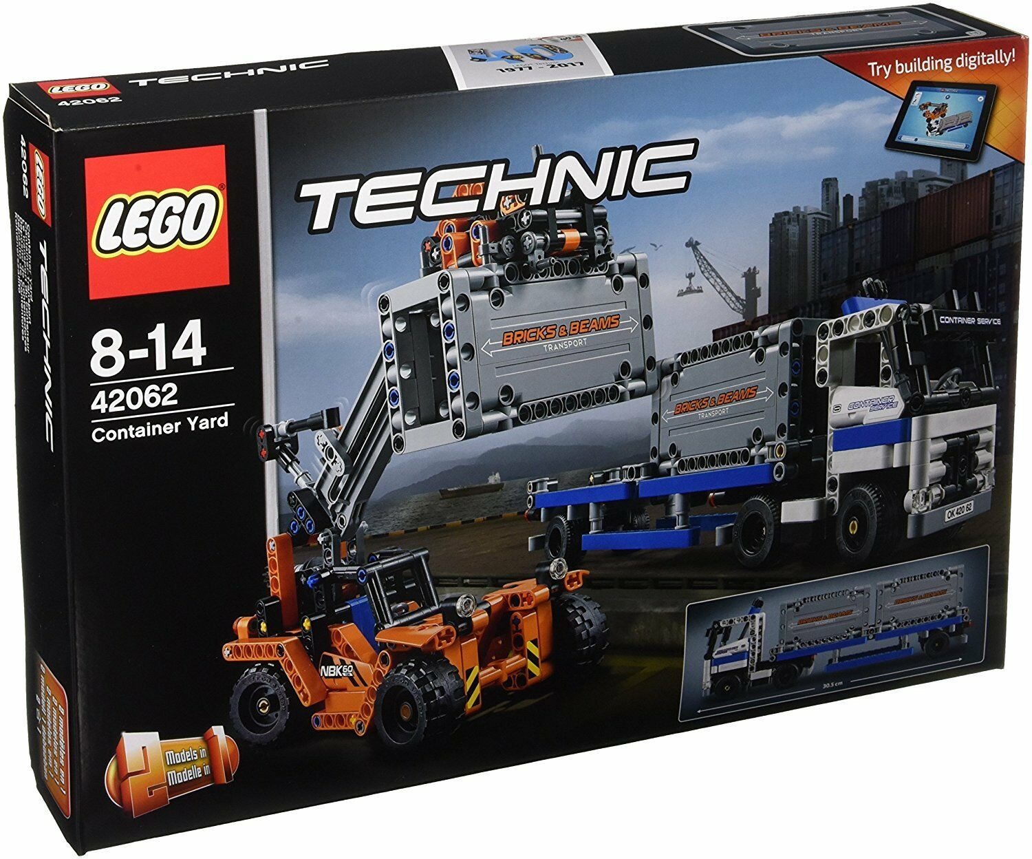Toy Building Set Lego Container Yardtow Technic Truck Container