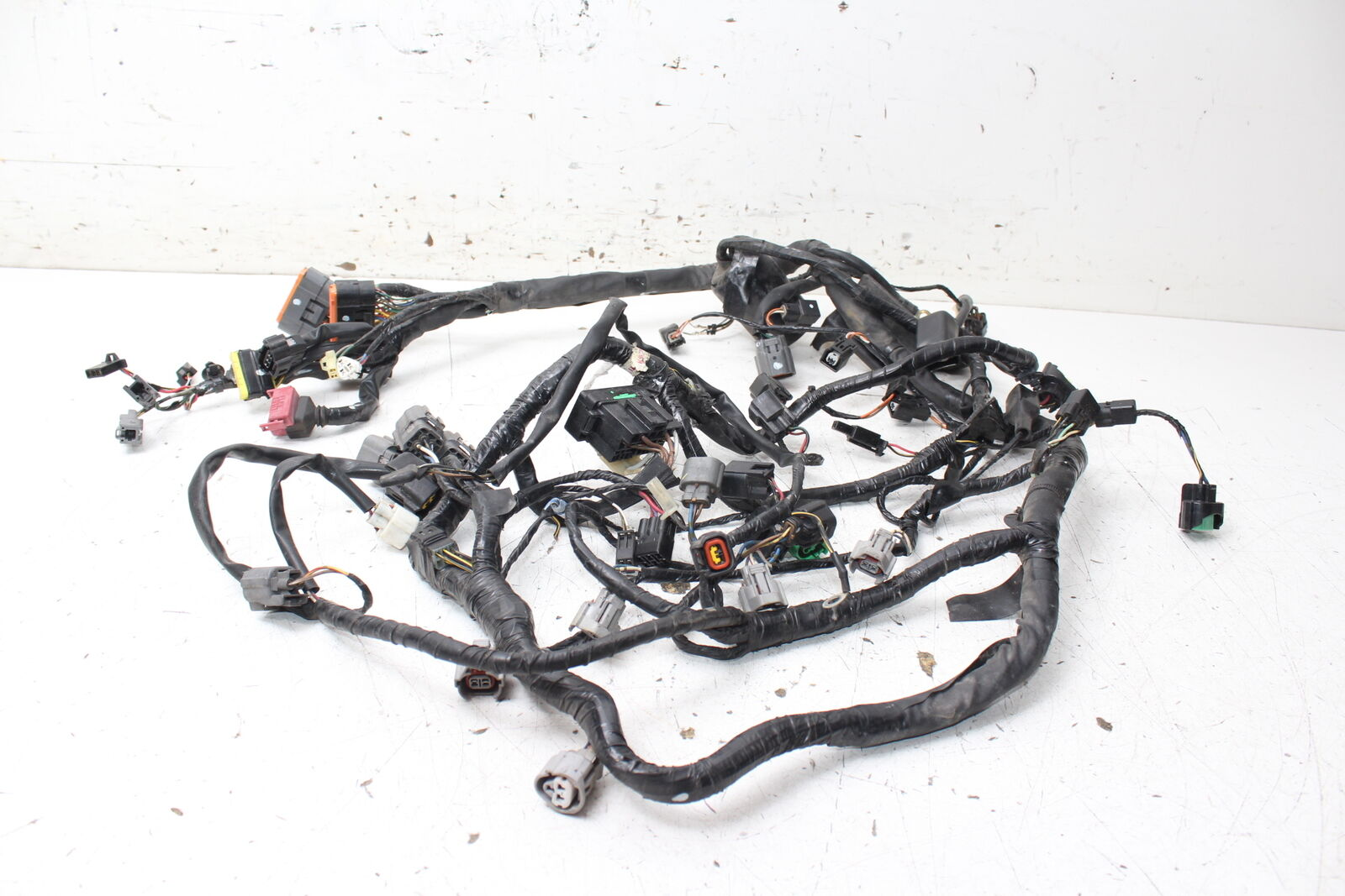 07 08 Kawasaki Ninja Zx6r Zx600p Main Engine Wiring Harness Motor 250 Wire Loom 1 Of 7only Available See More