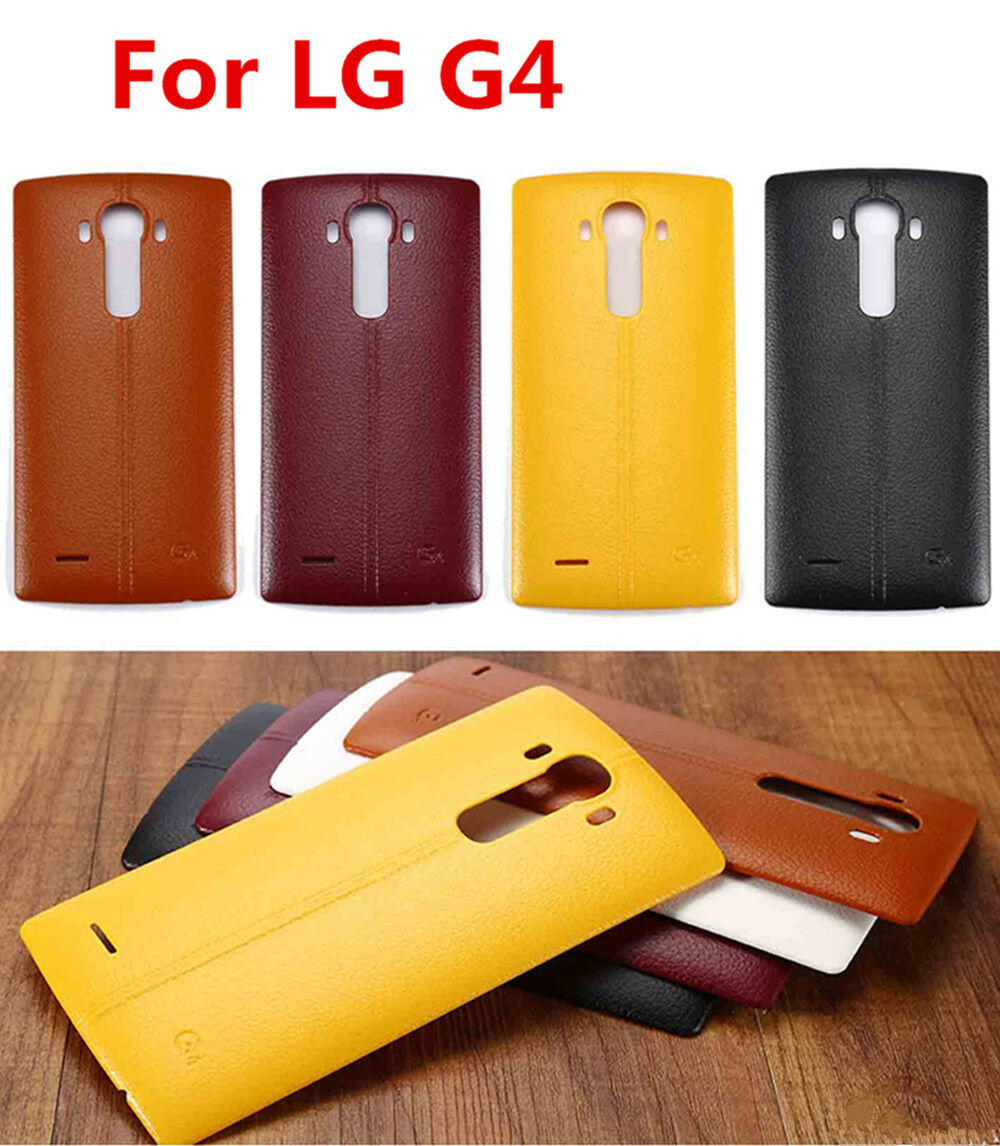 New leather pattern battery back door cover replacement for Back door replacement