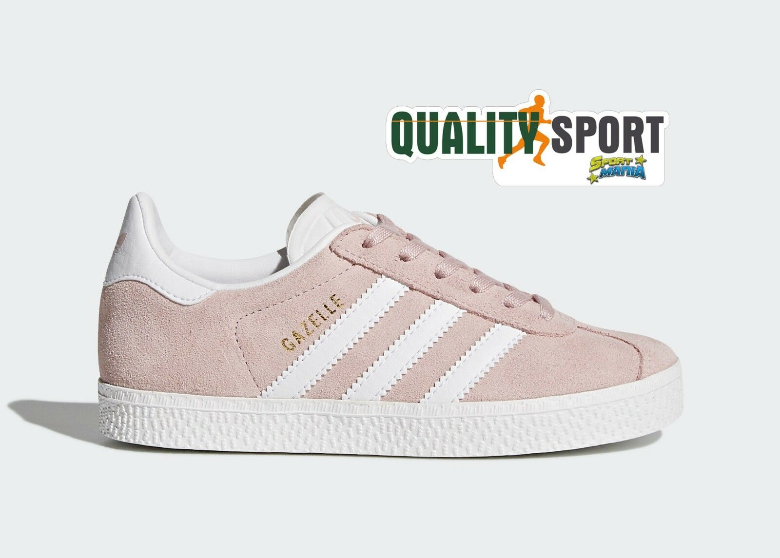Adidas Gazelle Rosa Scarpe Shoes Bambina Sportive Sneakers BY9548 2018 1 di 5Solo 2 disponibili ...