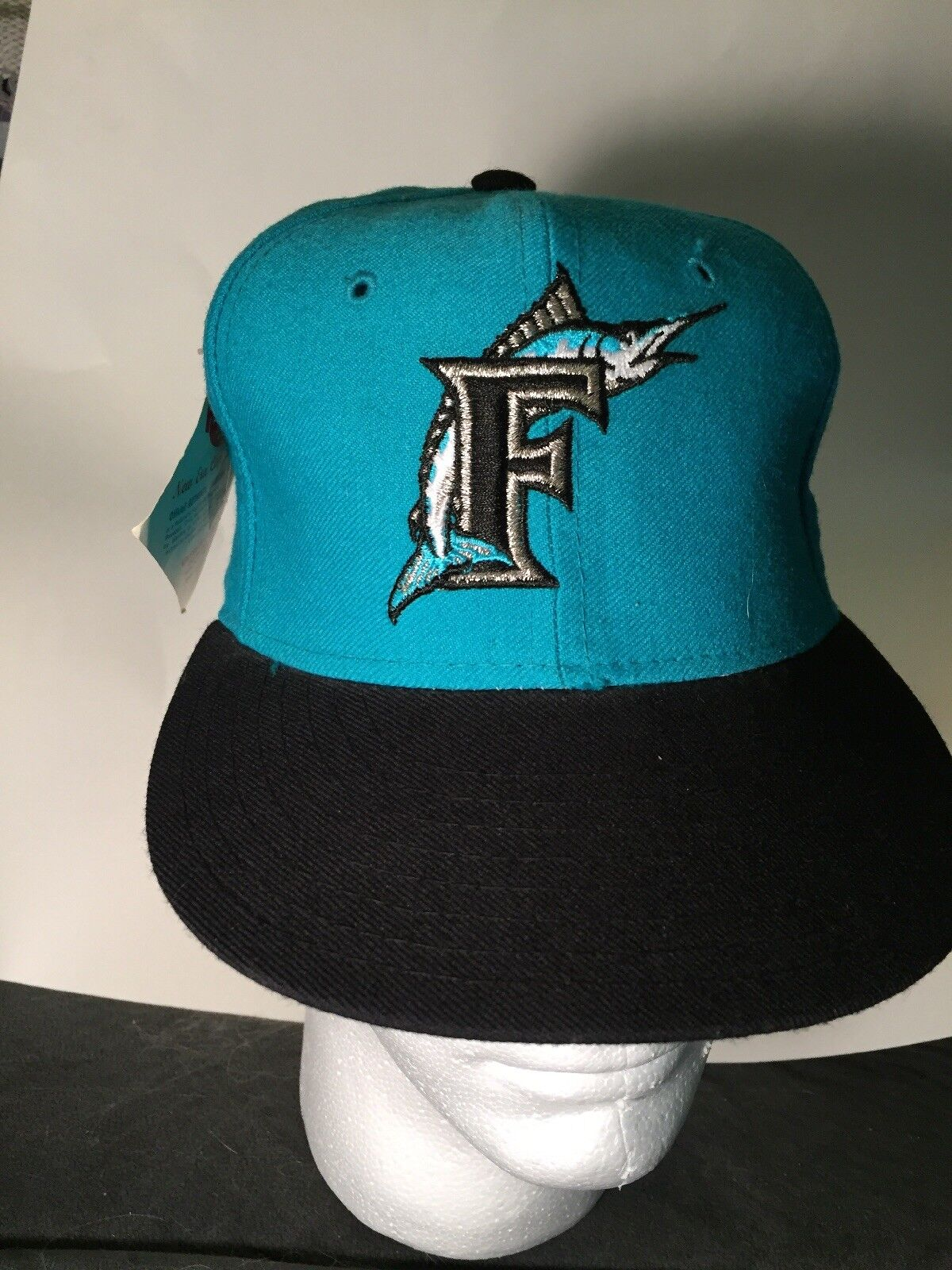 sports shoes e5873 a5f45 NWT New Era SZ 6 3 4 Florida MIAMI Marlins Fitted 5950 MLB CAP Baseball 1  of 12Only 1 available ...