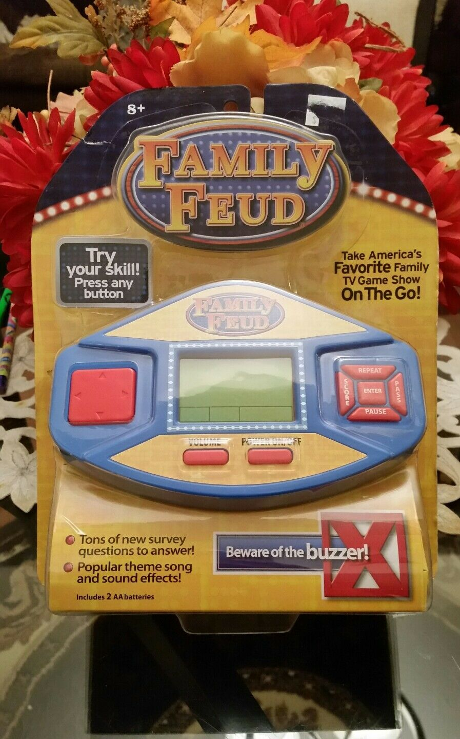 Family Feud Electronic Lcd Hand Held Favorite American Game Show Buzzer Find Great Deals On Ebay For Quiz Travel New 1 Of 2only Available See More