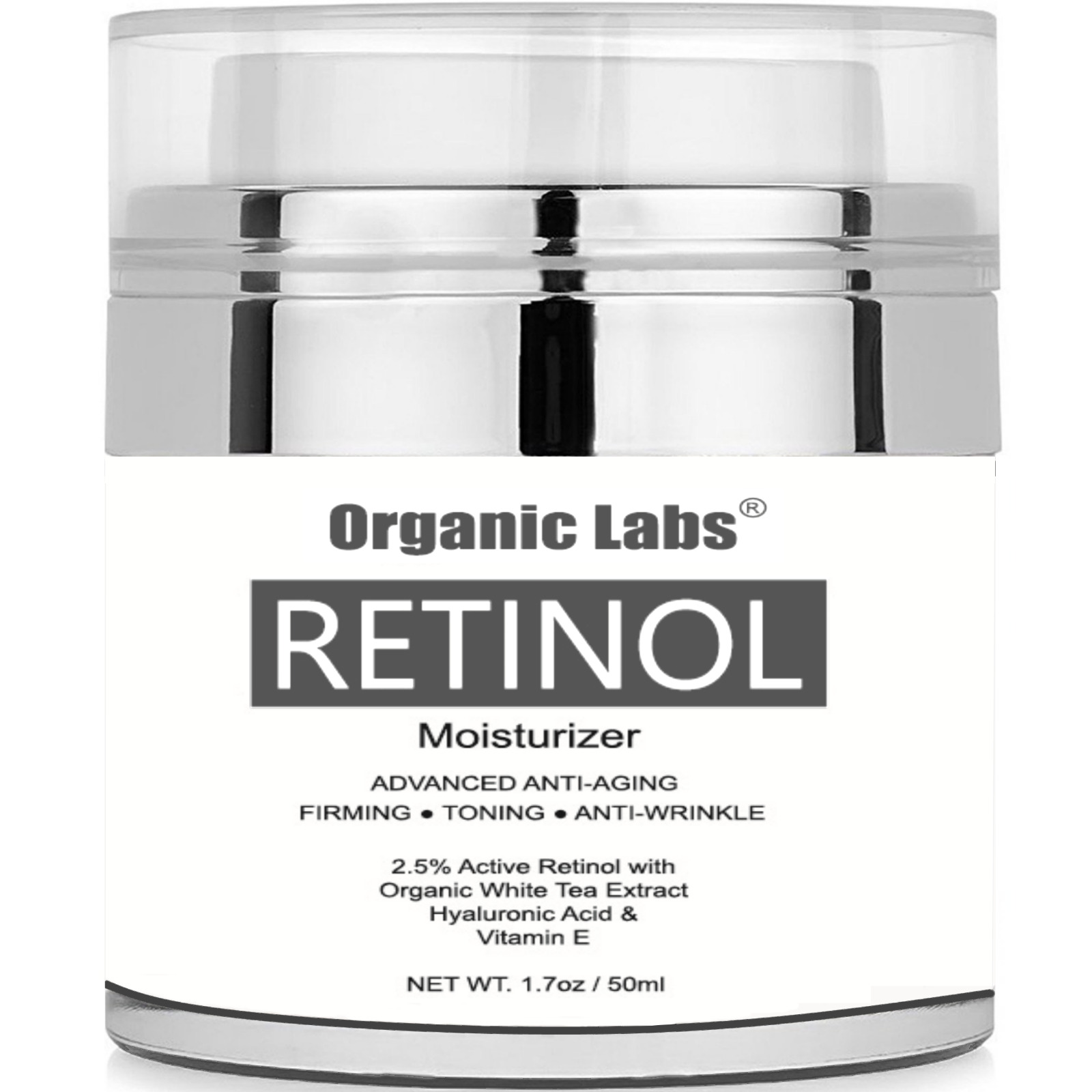 Retinol Moisturizer Face And Eye Gel Best Day Night Cream Vitamin E Hyaluronic Acid Facial Serum Oil Skin Care Anti Aging Moisturizing 1 Of 3free Shipping