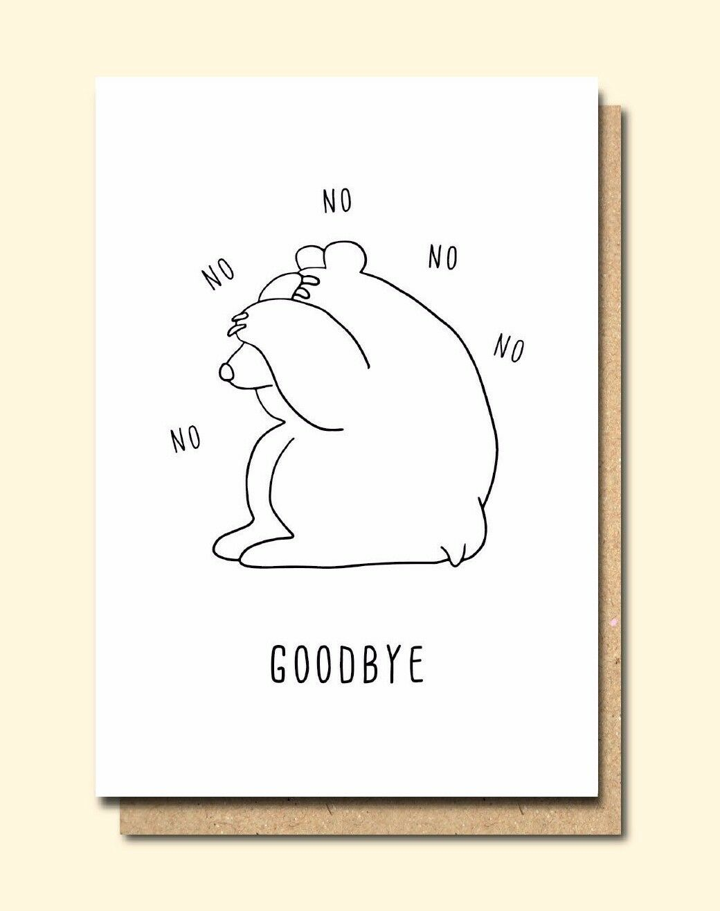Funny greetings card leaving new job humour fun no no good 1 of 1only 4 available m4hsunfo