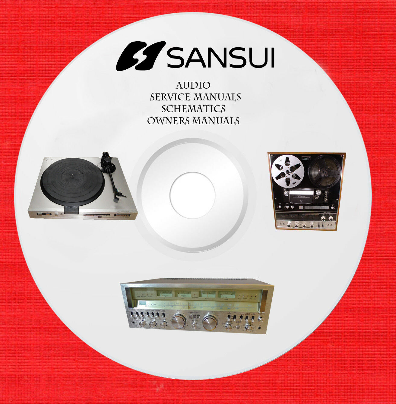 sansui audio repair service owner manuals on 2 dvd in pdf format rh picclick com