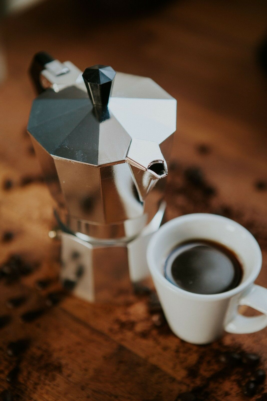 Harga Bialetti Kitty Nera Espresso Maker 10 Cups Silver Termurah Machine Mokona Coffee Pot Moka Classic Italian Stove 1 Of
