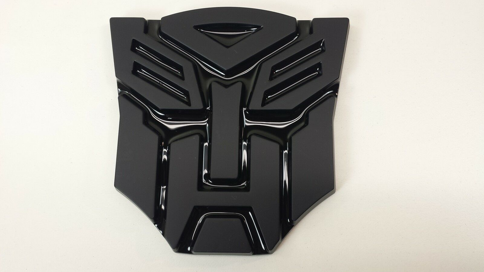 Black 3d Autobot 4 Inch Transformers Emblem Badge Decal Car Stickers