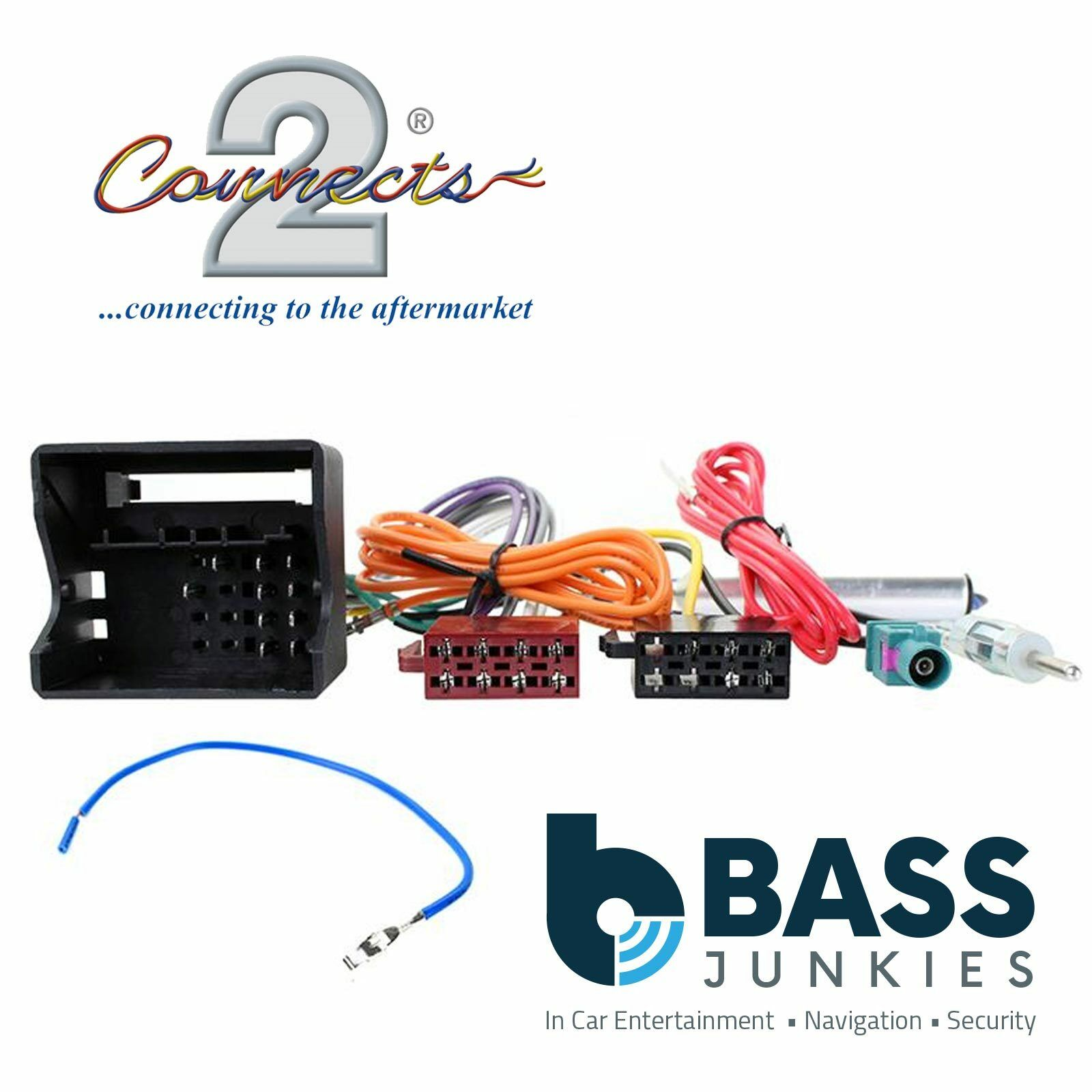 Volkswagen Fox 2005 Onwards Car Stereo Iso Wiring Harness Ct20vw08 Aftermarket For Saab 1 Of 1free Shipping See More