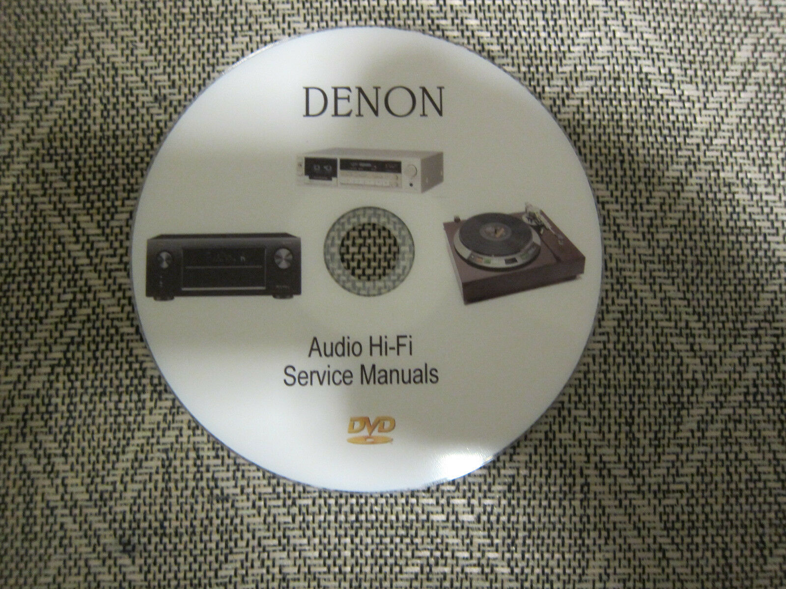 Denon audio video hi-fi Service manuals Schematics on 1 dvd in pdf format 1  of 2Only 3 available See More