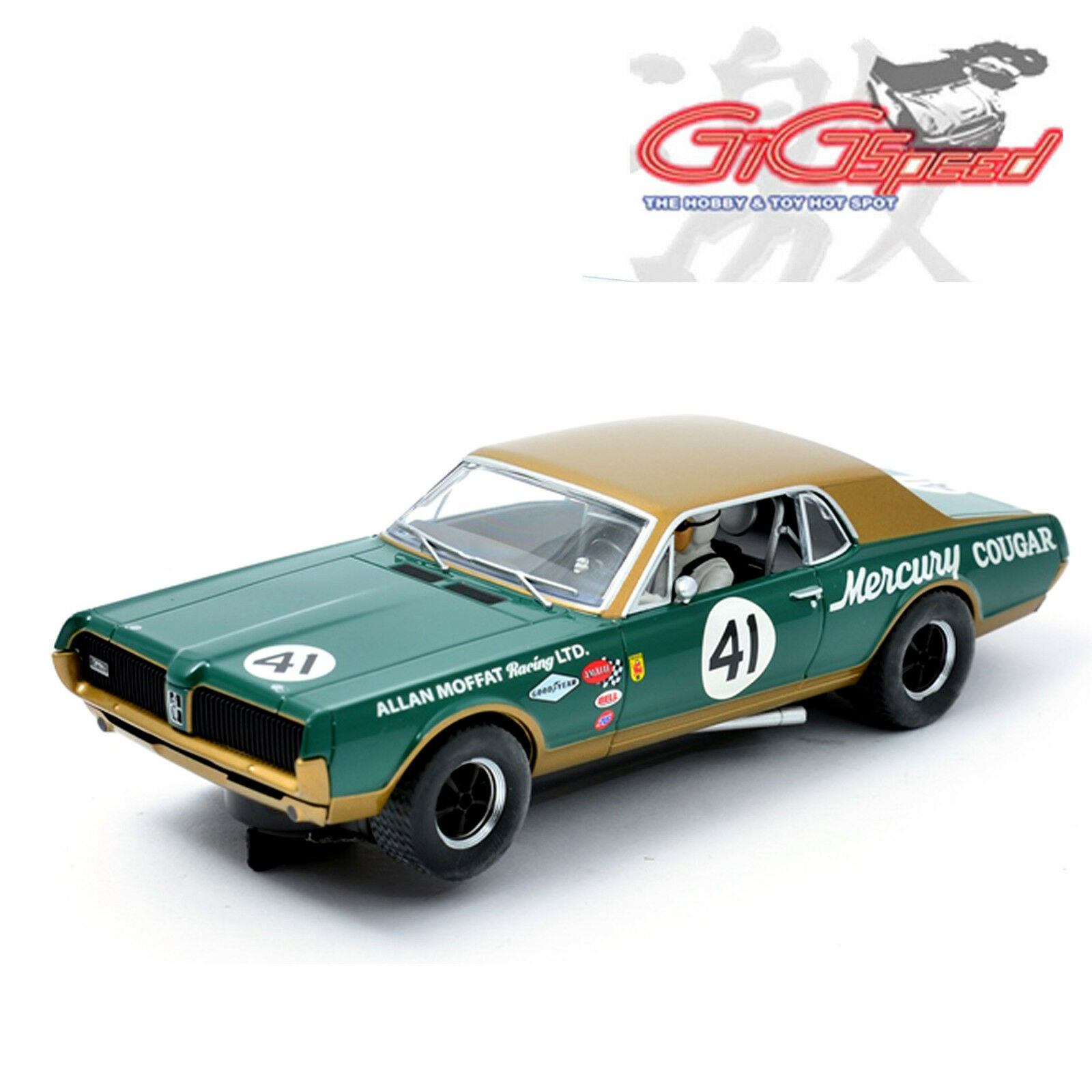New Scalextric 132 Mercury Cougar Xr7 Allan Moffat Racing Slot Car 1960s 1 Of 3only 3 Available