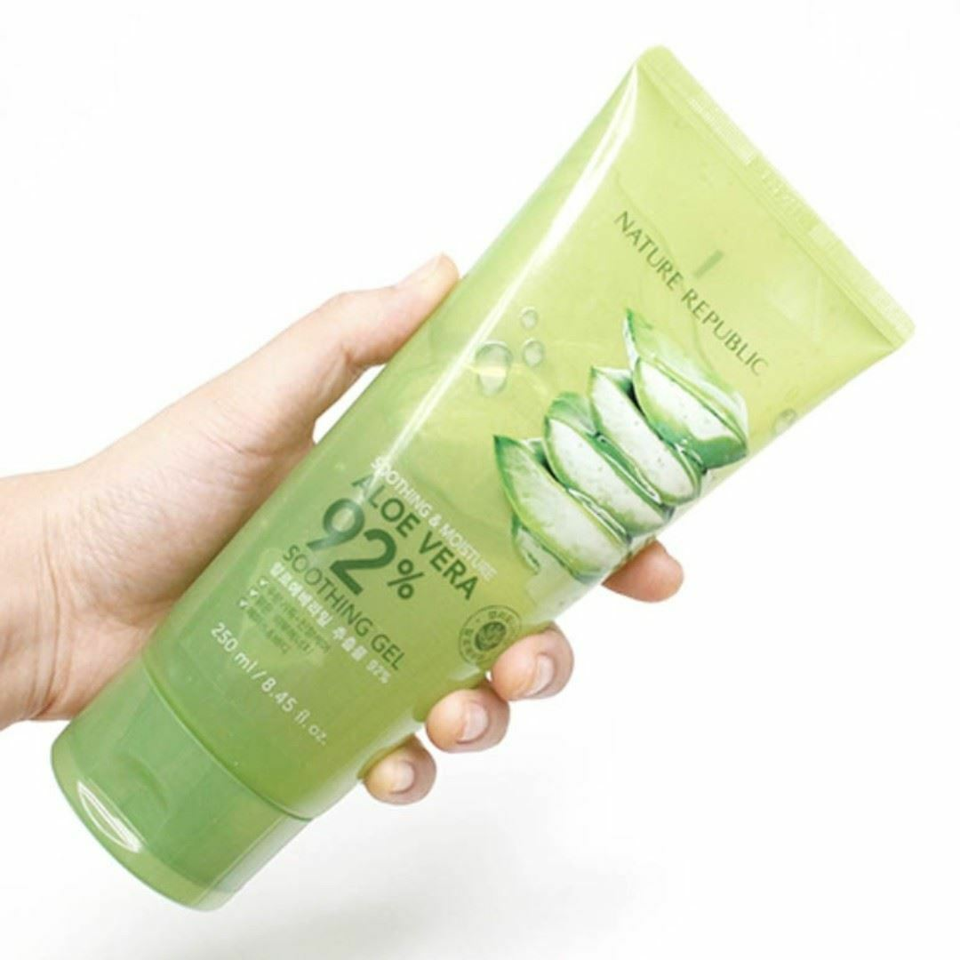 Nature Republic Aloe Vera 92 Soothing Moisture Gel Tube 899 Foam Cleanser 1 Of 1only 5 Available