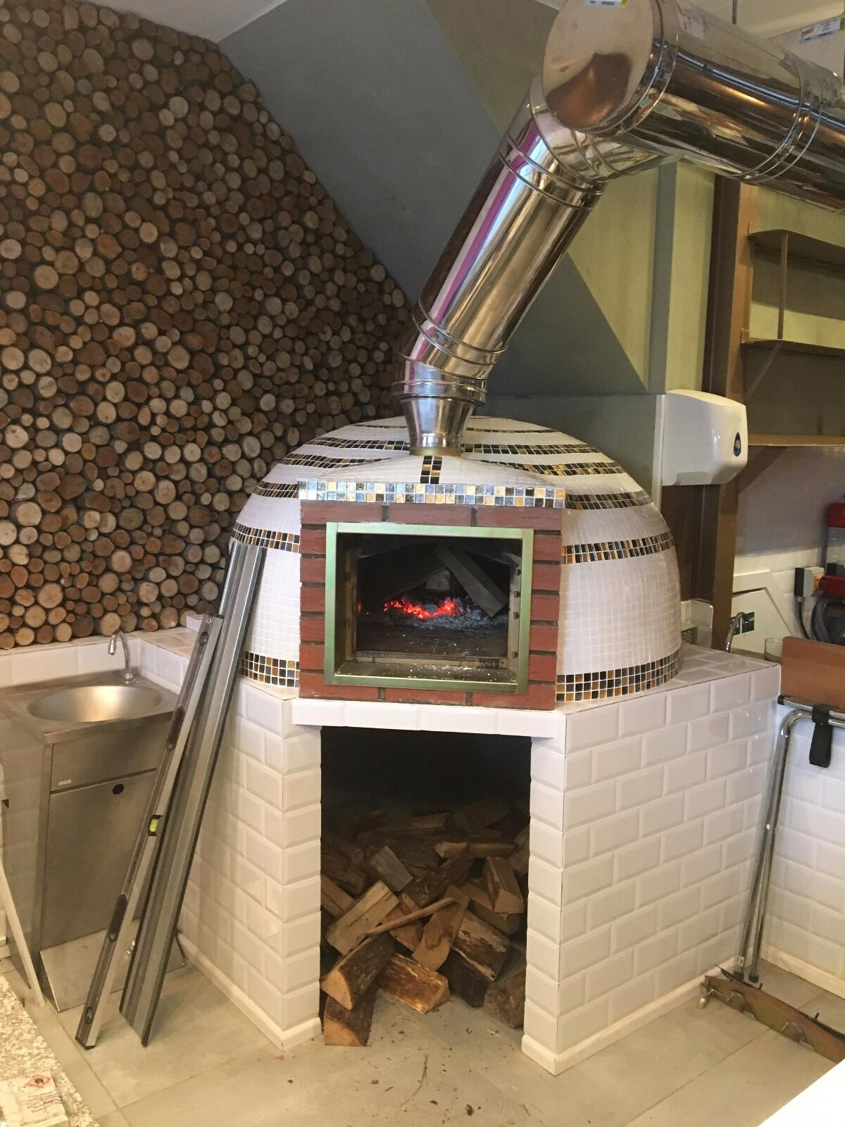 commercial brick wood fired pizza oven amigo ovens uk