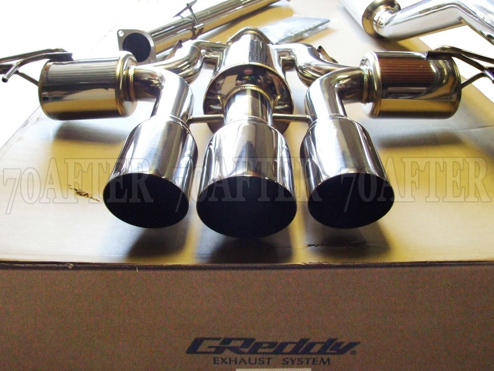Greddy Supreme Sp Hg Cat Back Exhaust For Civic Type R Fk8 Pickup Muffler 1 Of 3only Available