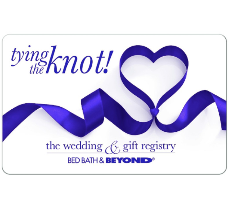 Buy A 100 Bed Bath And Beyond Wedding Gift Card For 90 Via Email
